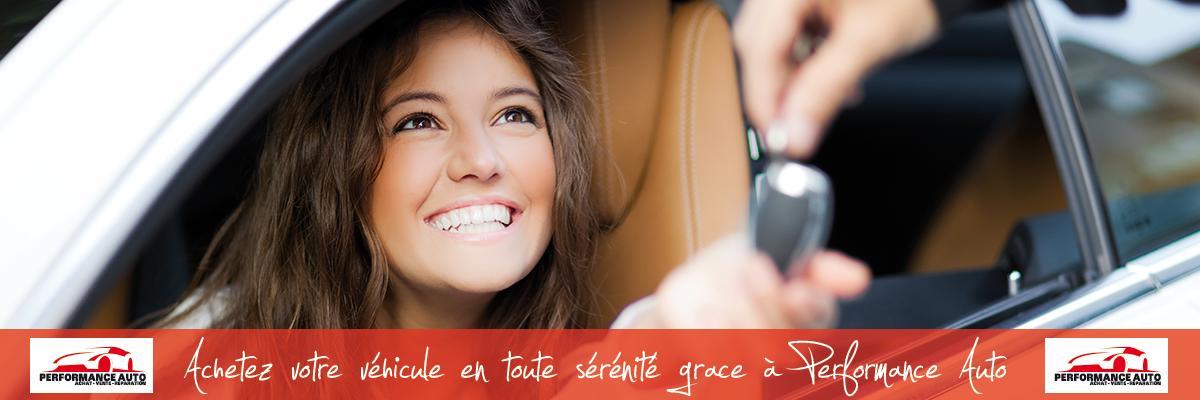 achat de vehicule d'occasion chez Performance Auto dans les Yvelines